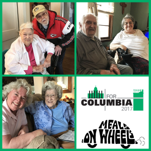 Meals on Wheels: Brown and Betty, Harold and Jane, JoNetta Weaver and Verna